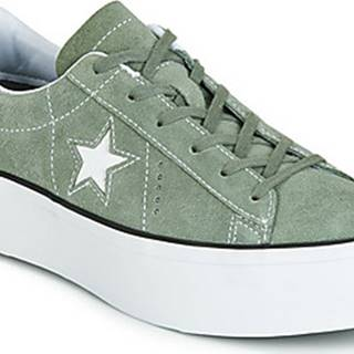 Converse Tenisky ONE STAR PLATFORM SEASONAL COLOR OX Zelená