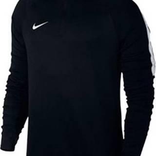 Nike Trička s dlouhými rukávy Dril Top Squad Černá