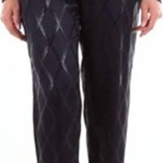 Simona Corsellini Oblekové kalhoty MPA01602TJAQ0014 Modrá