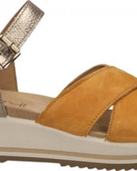 Žluté sandály Enval