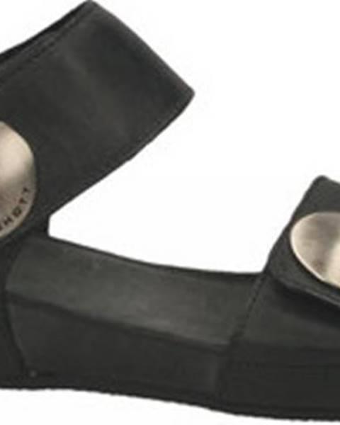 Černé sandály Ca Shott