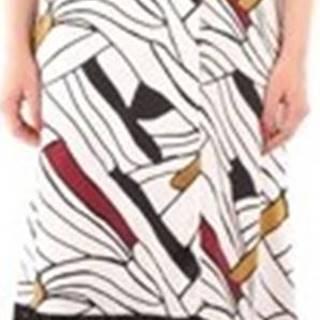 Iblues Společenské šaty MAPPA Bílá