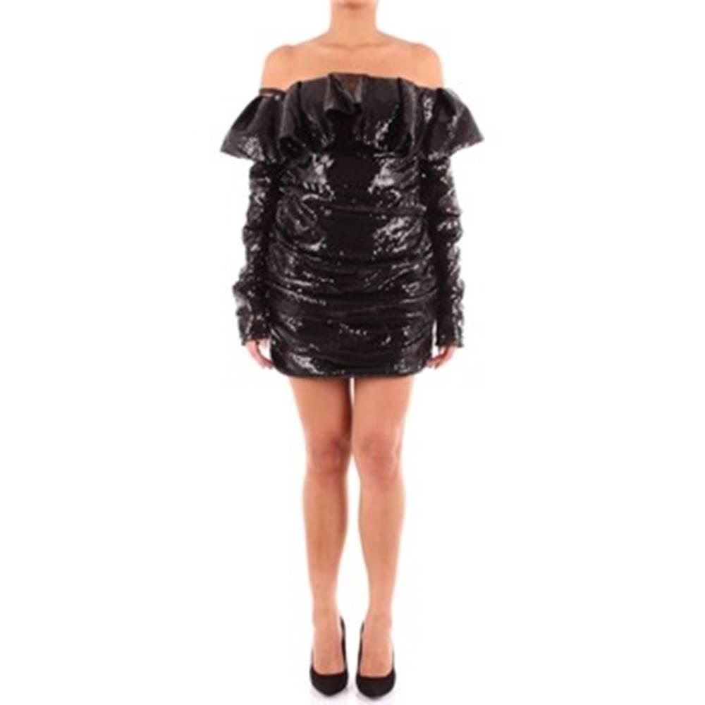 The Attico The Attico Krátké šaty 192WCA33M002 Černá