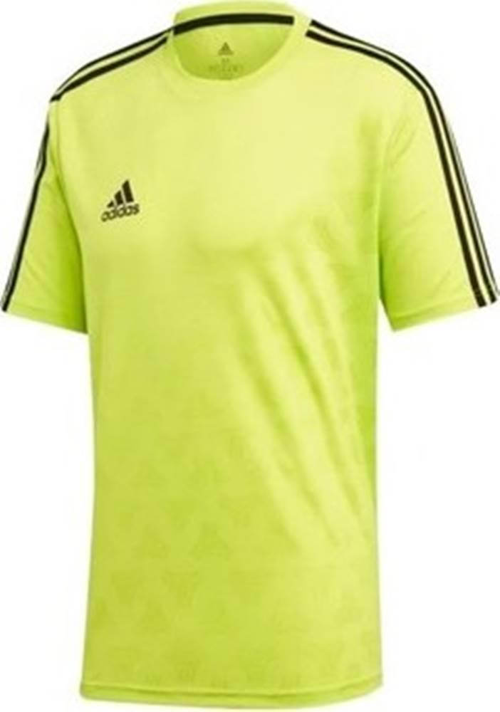 adidas adidas Trička s krátkým rukávem Tan Jacquard ruznobarevne