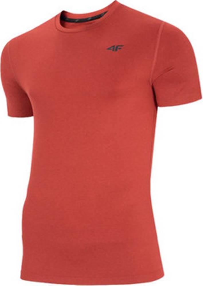 4F 4F Trička s krátkým rukávem Men's Functional T-shirt NOSH4-TSMF003-62M ruznobarevne