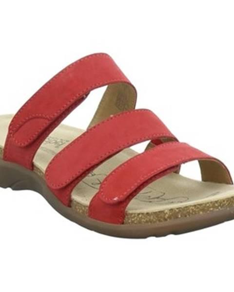 Červené pantofle Josef Seibel