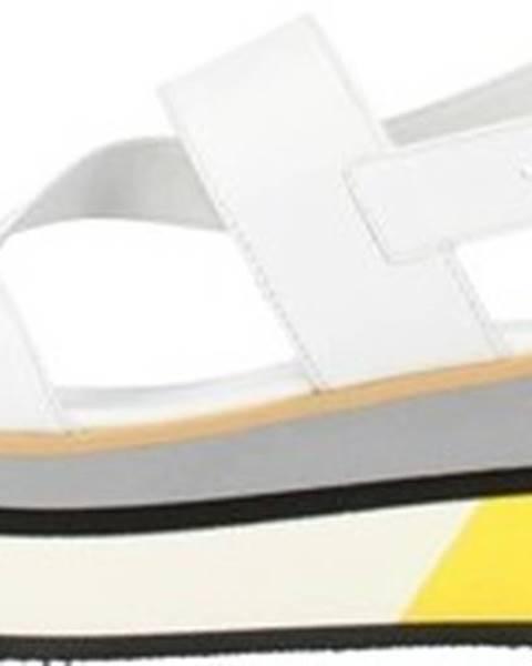Bílé sandály Nero Giardini