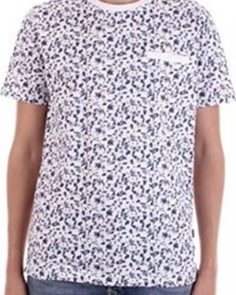 Bílé tričko Premium by Jack & Jones