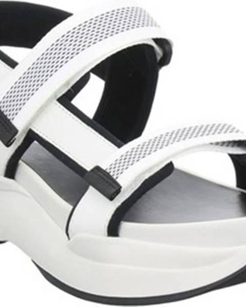 Bílé sandály vagabond