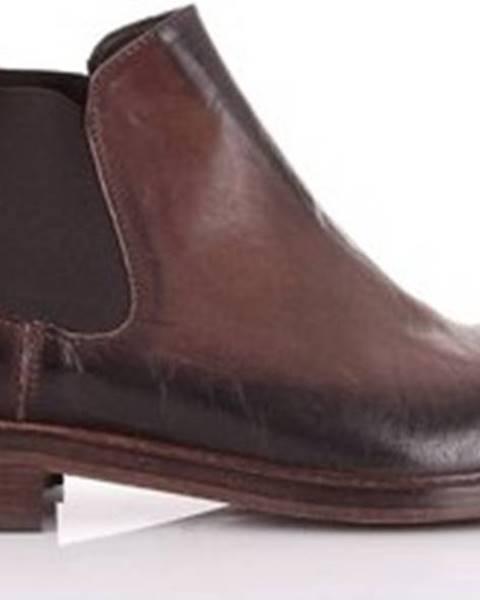 Hnědé boty Marc Edelson