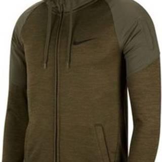 Nike Mikiny Dry FZ Fleece Plus ruznobarevne