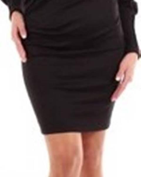 Černé šaty Isabel Marant