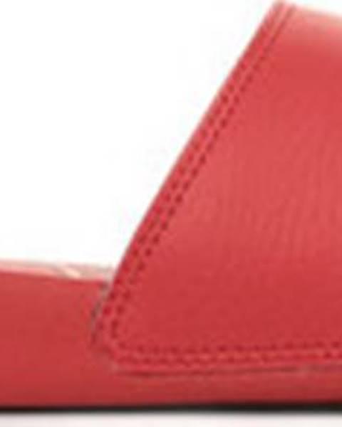 Červené pantofle puma