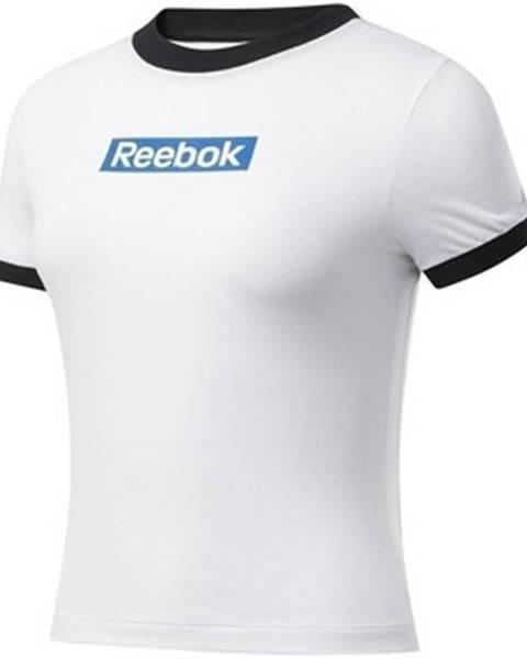 Bílý top Reebok Sport