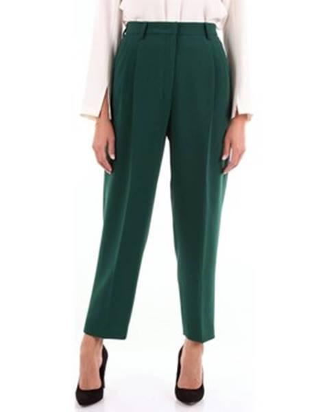 Zelené kalhoty Alberto Biani