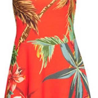 Desigual Krátké šaty MEMPHIS Červená