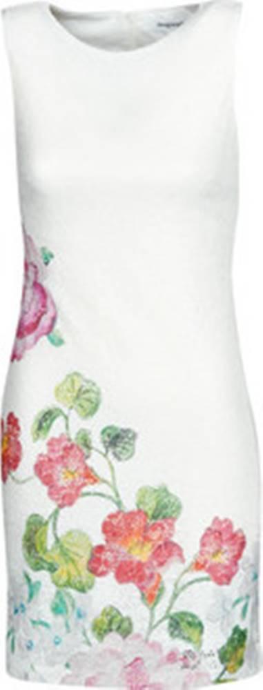 desigual Desigual Krátké šaty BONNEY Bílá