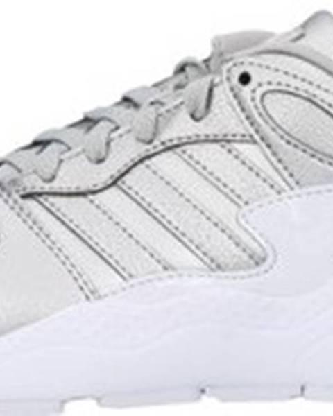 Stříbrné tenisky adidas