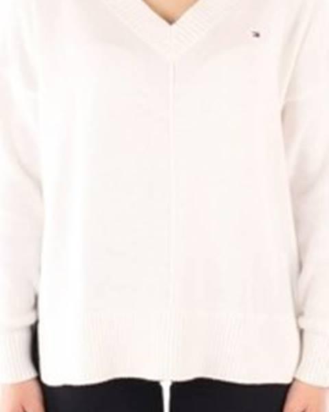 Bílý svetr tommy hilfiger
