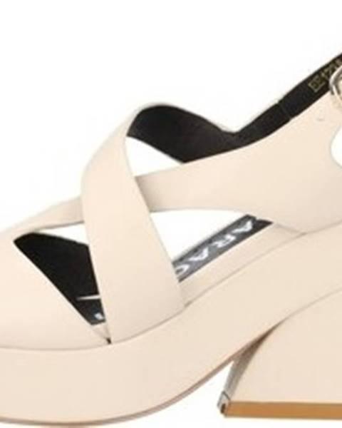 Béžové sandály Luciano Barachini