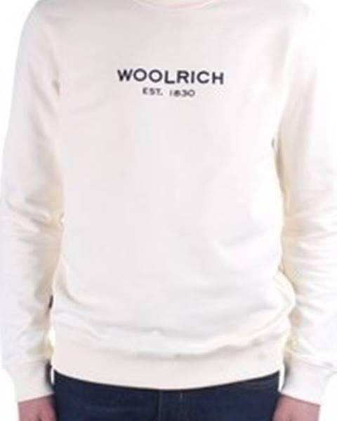Bílá mikina Woolrich