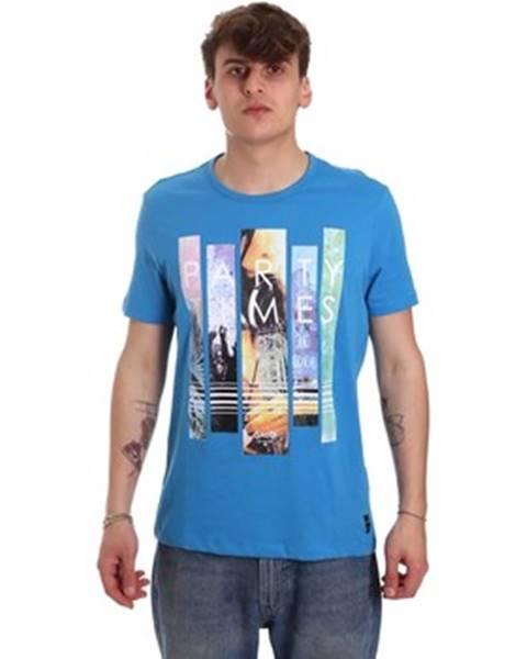 Modré tričko GAUDÌ