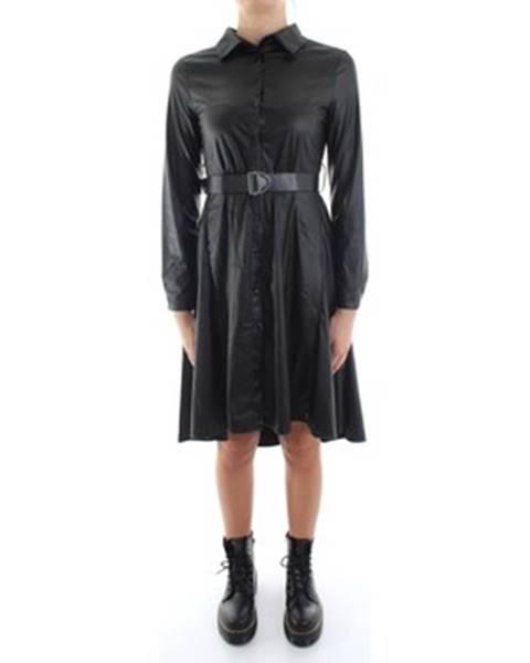 Bsb Krátké šaty 042-211031 Černá