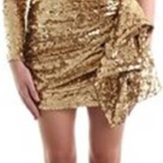 Krátké šaty AR40J97E2 Zlatá