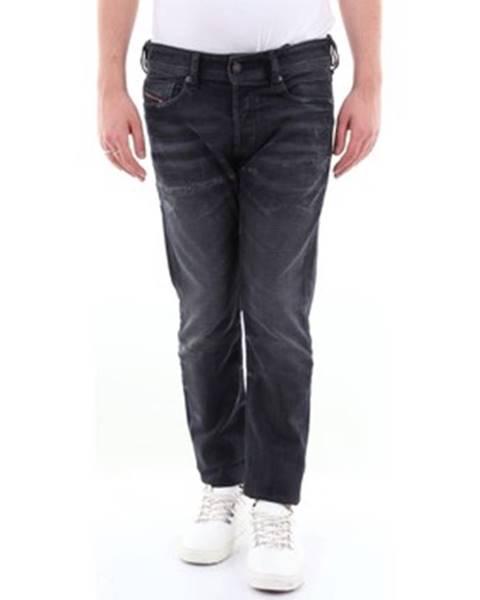 Černé kalhoty Diesel