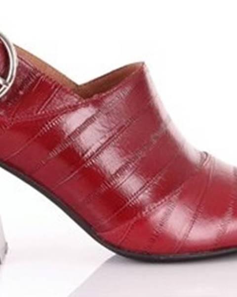 Červené boty Jeffrey Campbell
