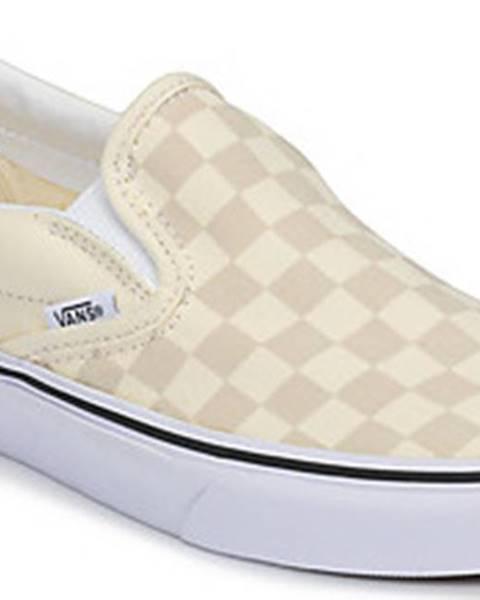Béžové boty vans