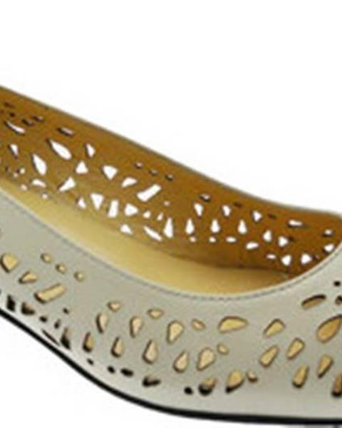 Béžové boty Donna Soft