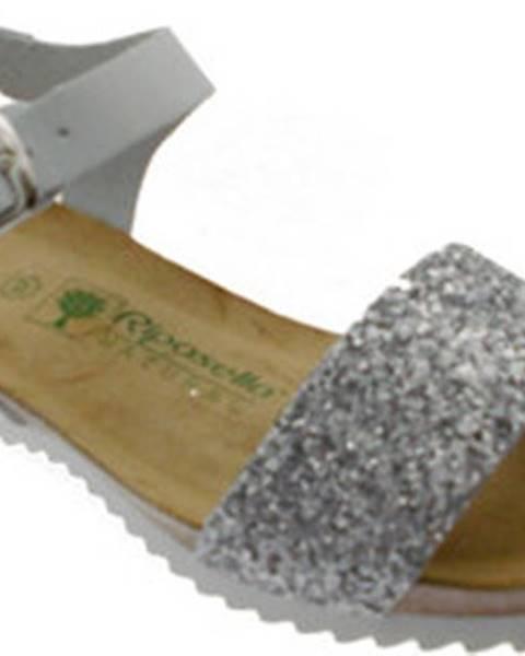 Bílé sandály Riposella