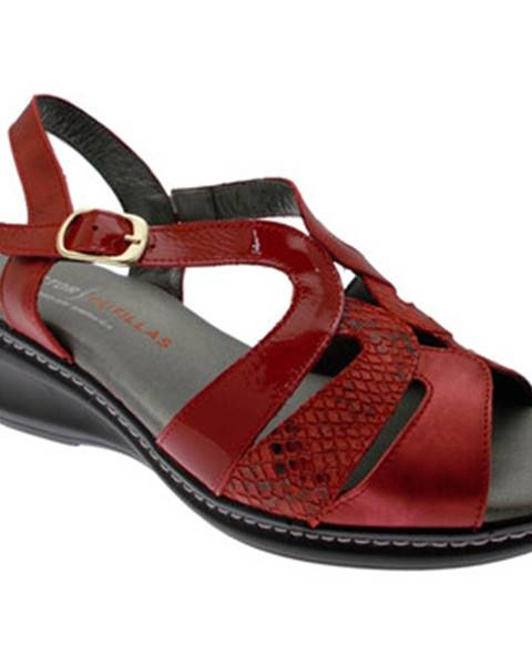 Červené sandály Doctor Cutillas