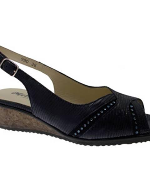 Modré sandály Melluso