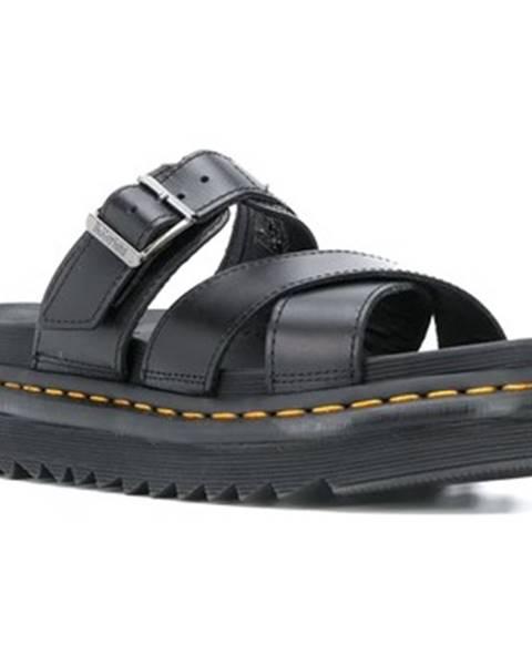 Černé sandály Dr Martens