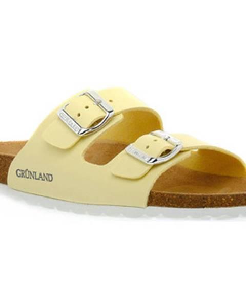 Žluté pantofle Grunland