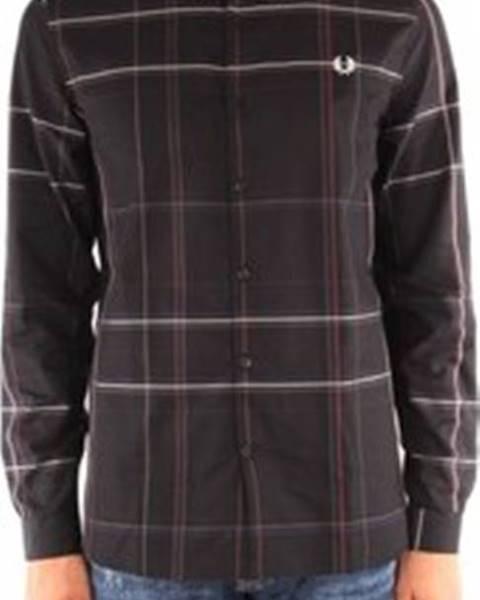 Černá košile Fred Perry