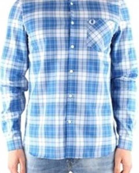 Modrá košile Fred Perry
