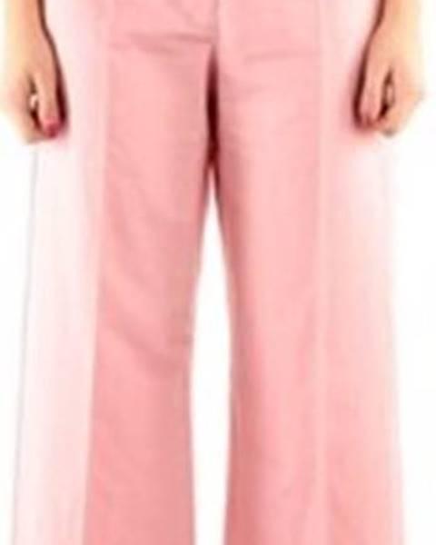 Růžové kalhoty Max Mara