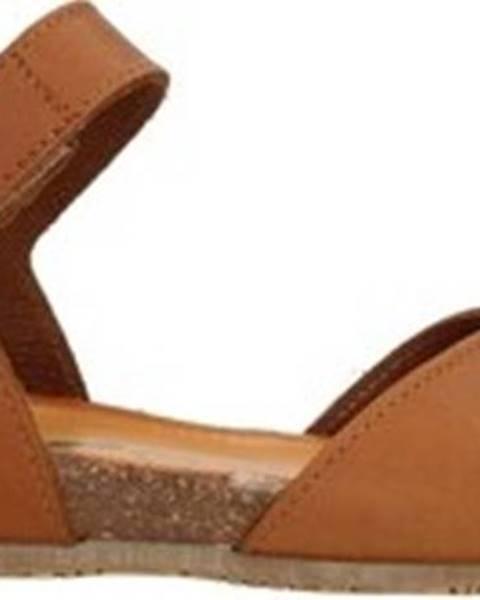 Hnědé sandály Bionatura