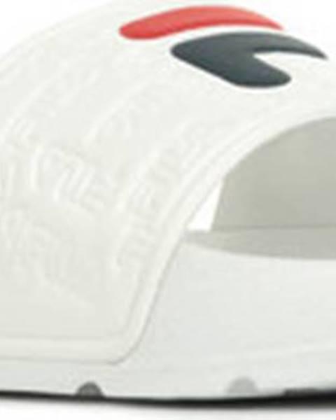 Bílé pantofle fila