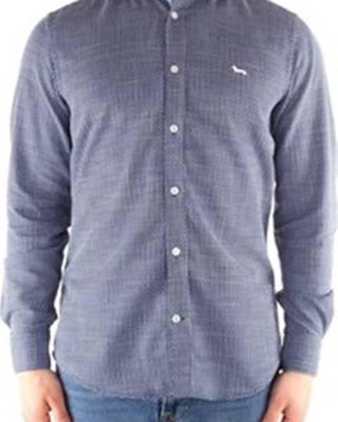 Modrá košile HARMONT & BLAINE