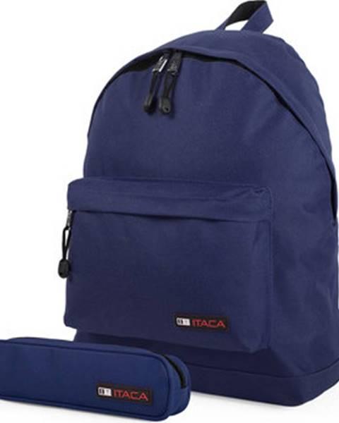 Modrý batoh Itaca