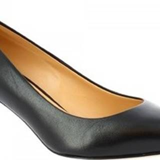 Leonardo Shoes Lodičky E9551 NAPPA NERO Černá