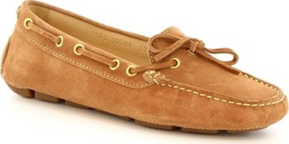 Leonardo Shoes Leonardo Shoes Baleríny 7502 SOFTY PHARD Béžová