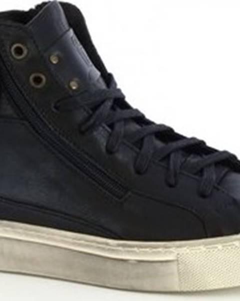 Černé tenisky Leonardo Shoes