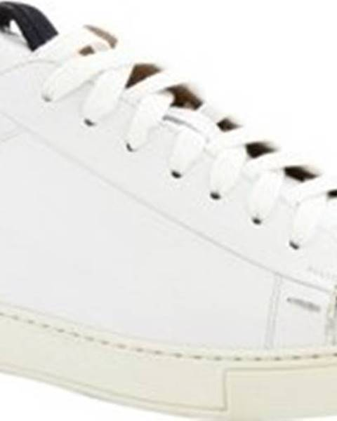 Bílé tenisky Leonardo Shoes