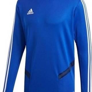 adidas Trička s dlouhými rukávy Tiro 19 Training Top Modrá
