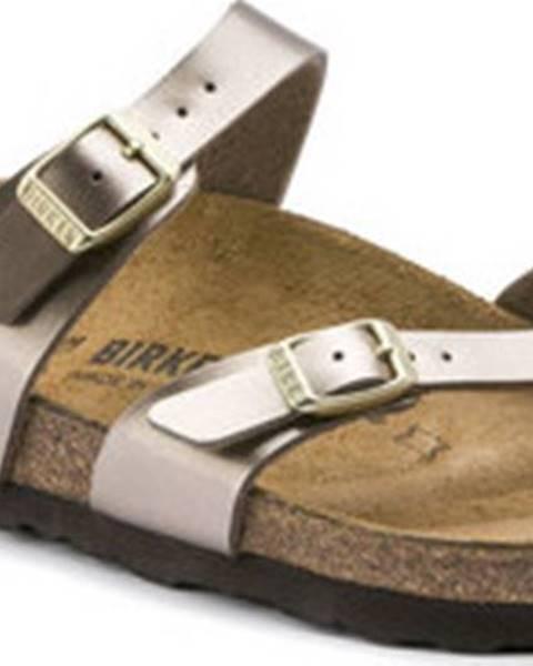 Hnědé sandály Birkenstock